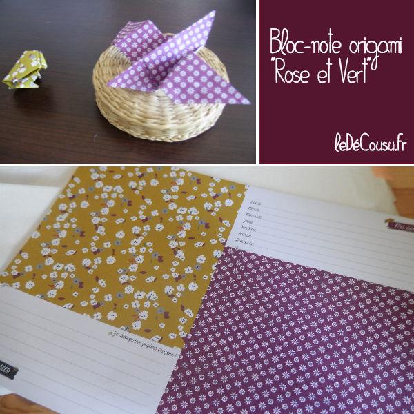 roseetvert-origami-ledecousu