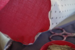 J'organise ma rentrée couture avec Frou-Frou : #2 Poubelle à fils et pique-aiguille