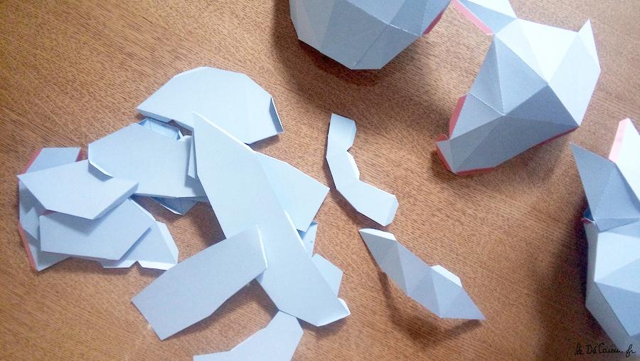ourson origami